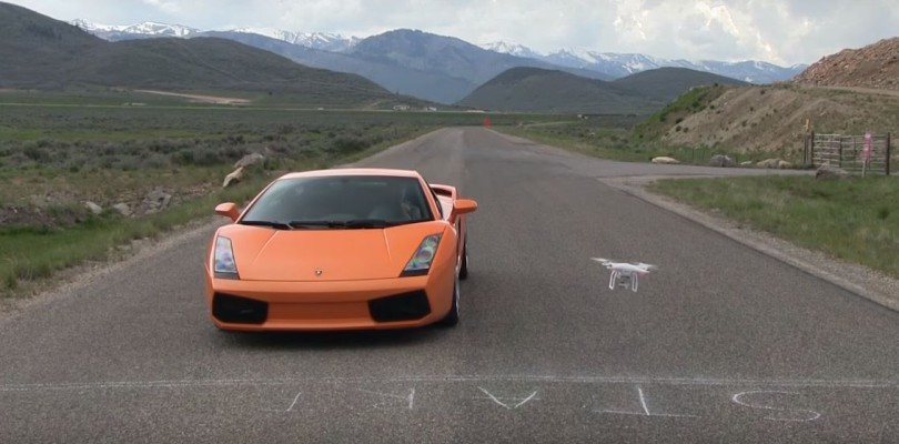 Lamborghini Racing Drone