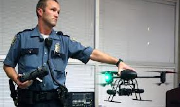 Cop with Drone
