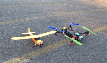 RC Plane and Quadcopter