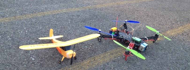RC Plane and Quadcopter