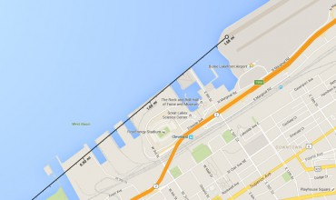 Map of Cleveland Airport