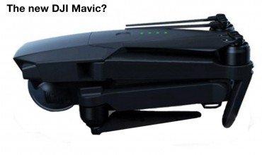DJI Mavic Leaked Photo